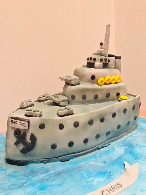 Ship Cake by Mum's Cake Box