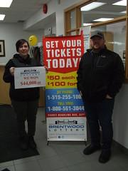 Greg & Stacey Mulligan take home $44,000
