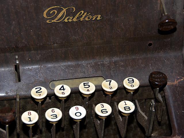 Dalton edding machine.