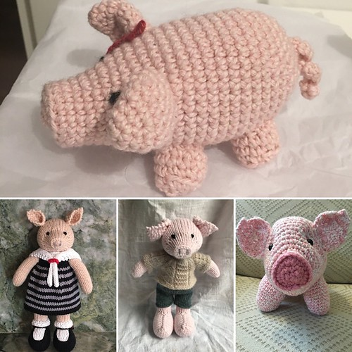 Happy Year of the Pig - Some Ravelry Pigs!