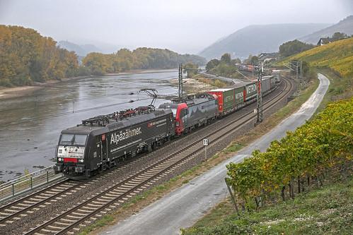 189 108 +193 464 SBB Cargo . Lorch (Rhein) . 20.10.18.