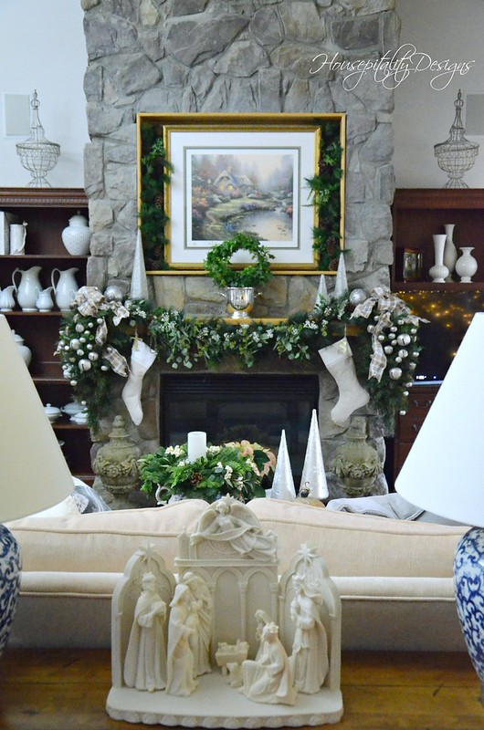 Christmas Mantel-Housepitality Designs-7