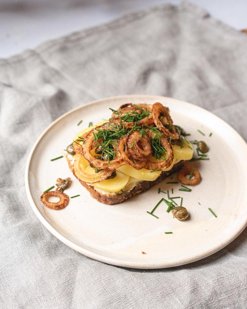 Kartoffel-smorrebrod