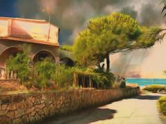 The road to the sea - Corfu