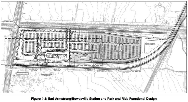 Earl Armstrong and Bowesville Station plus park and ride functional design