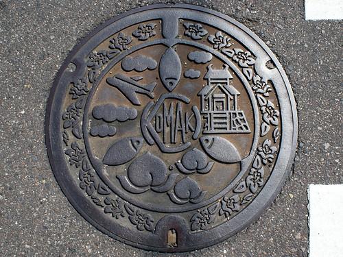 Komaki Aichi, manhole cover (愛知県小牧市のマンホール)
