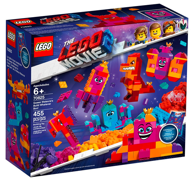 LEGO Movie 2 70825 Queen Watevra Wa'Nabi's Build Whatever Box 01