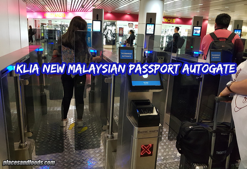 KLIA New Malaysian Passport Autogate