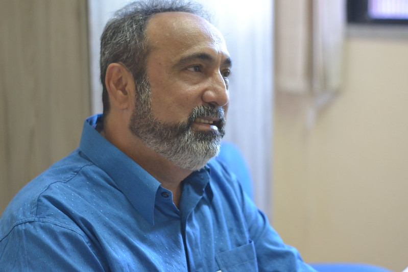 Entrevista com Erivaldo Silva (Diretoria Social) para o Jornal Expresso Sindical