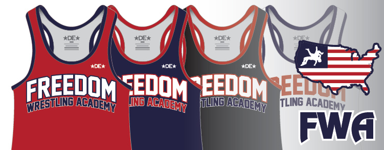 Freedom Wrestling Academy Gear