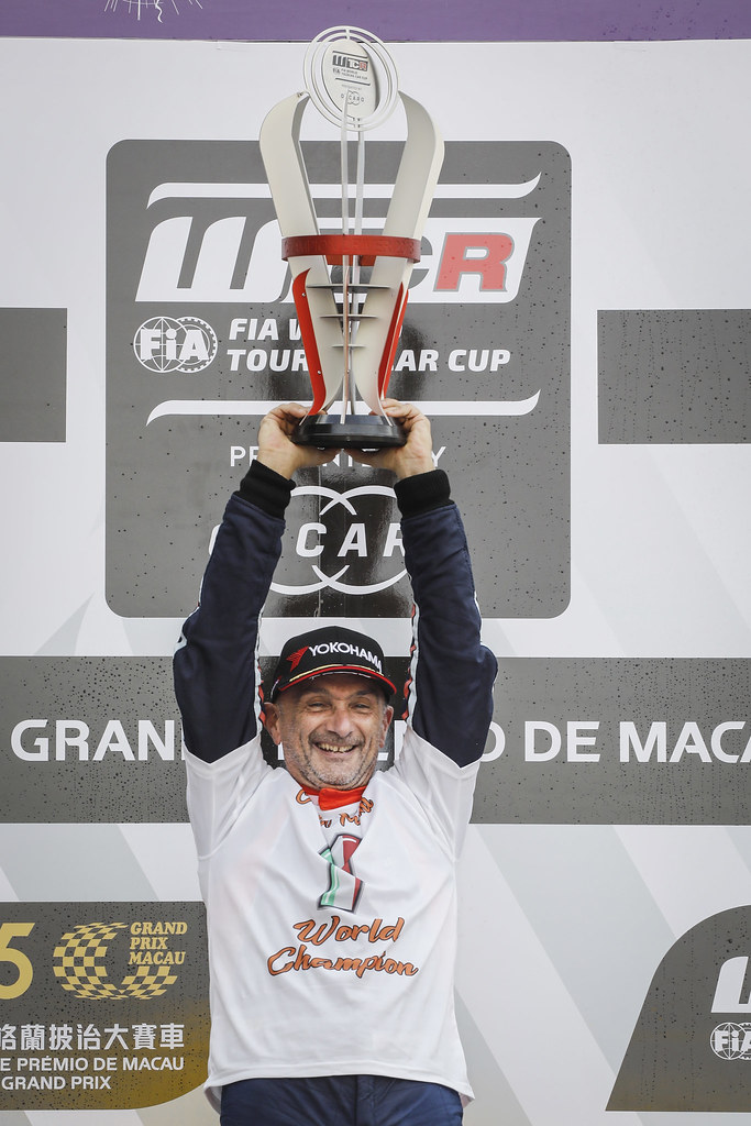 TARQUINI Gabriele, (ita), Hyundai i30 N TCR team BRC Racing, portrait word champion during the 2018 FIA WTCR World Touring Car cup of Macau, Circuito da Guia, from november  15 to 18 - Photo Francois Flamand / DPPI