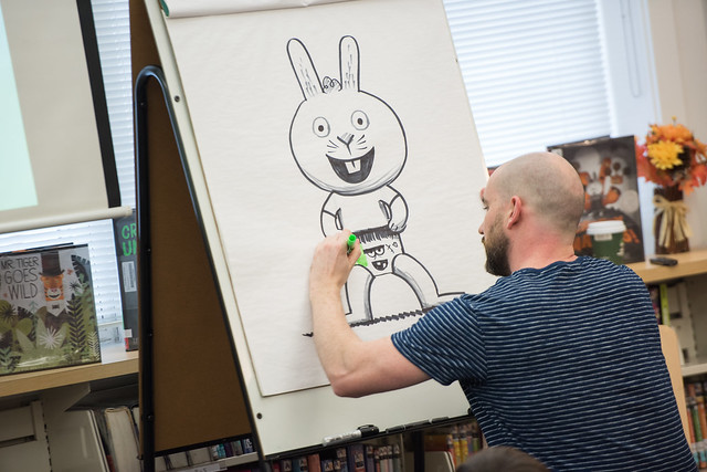 LD Author-Illustrator Visit Peter Brown 2018
