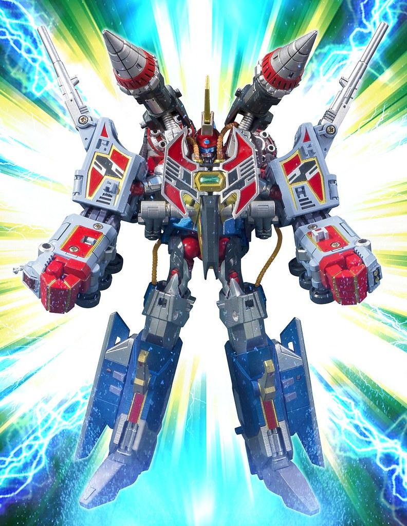 【超合體型態公開!】《SSSS.GRIDMAN》ACTIBUILDER 電光超人古立特&DX支援武器套組(グリッドマン&DXアシストウェポンセット)