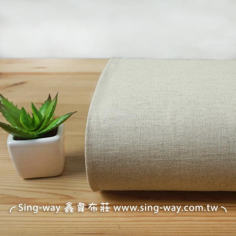 棉麻素面 簡約無印 禪風 加工用 手工藝DIy拼布布料 FA450034