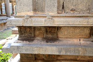 Various lingams around Amman shrine