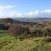 007-20181111_Mid Glamorgan-panoramic view NW from Cefn Onn-photo 2 of 3-NW to (L-R) Mynydd Meio, Cefn Eglwysilan, Mynydd Eglwysilan, Mynydd Dimlaith
