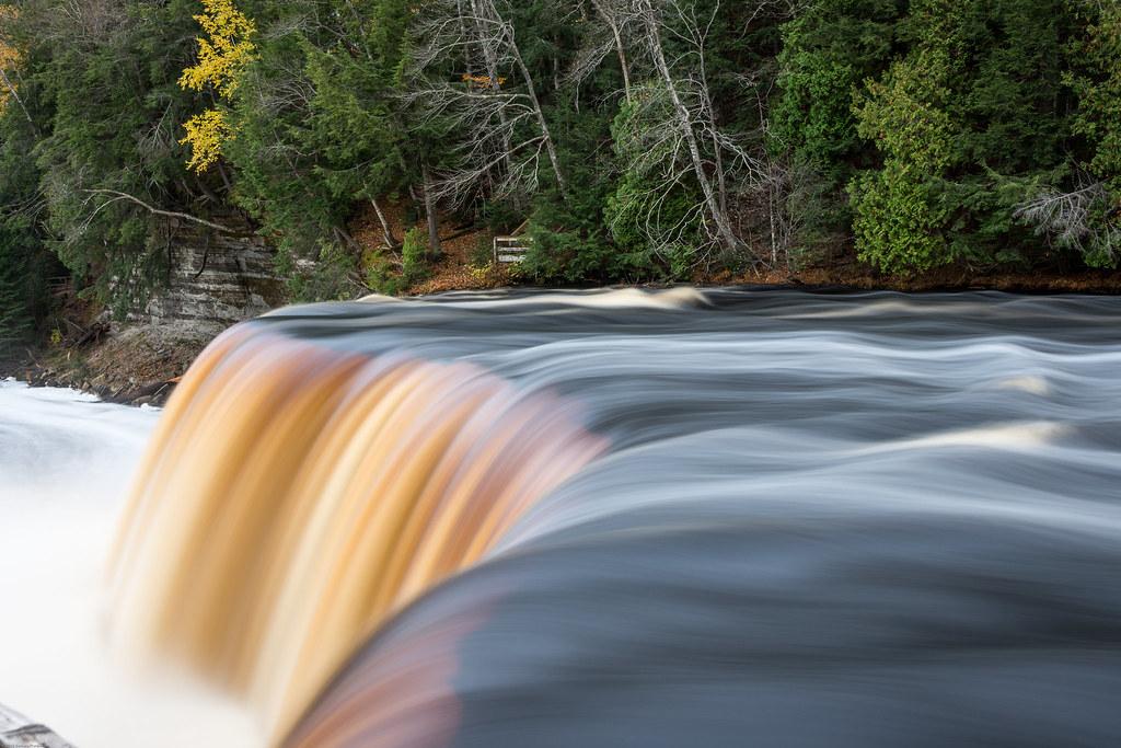 Brink of Upper Tahquamenon Falls