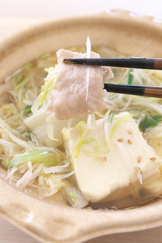 セブンイレブン 1/2日分の野菜!ねぎ鍋(そばつゆ仕立て)