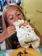 Violet And The Giant Burrito