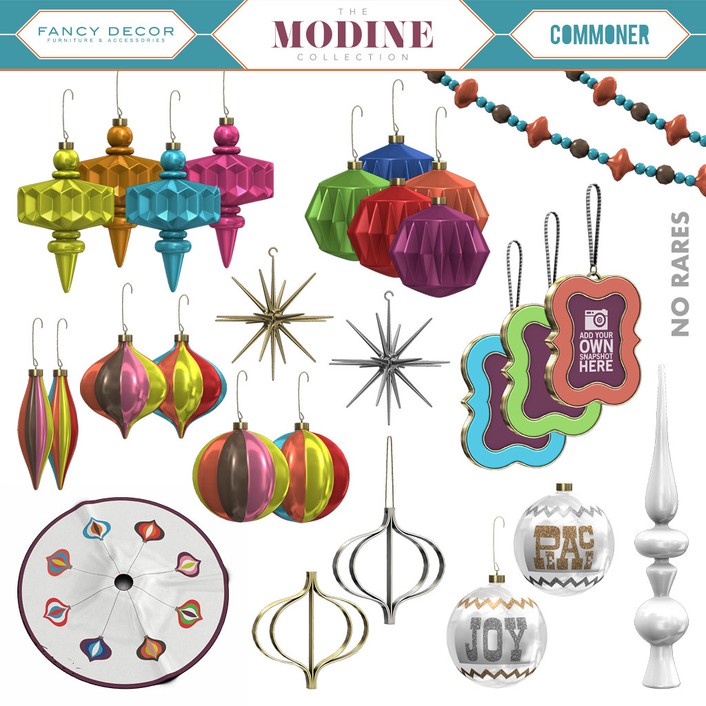 The Modine Ornament Collection - TeleportHub.com Live!
