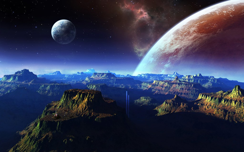 Fantastic-scenery-mountains-space-planet_1680x1050