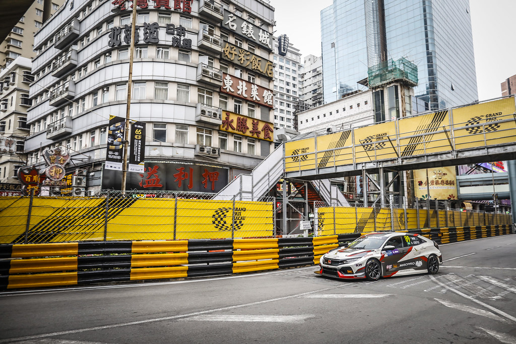 89 Andre Couto (MAC), MacPro Racing Team, Honda Civic TCR, action during the 2018 FIA WTCR World Touring Car cup of Macau, Circuito da Guia, from november  15 to 18 - Photo Francois Flamand / DPPI
