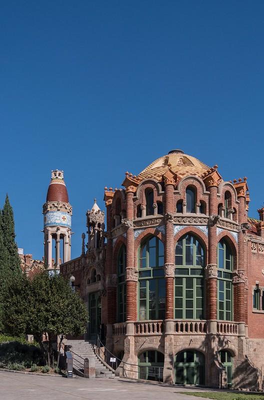 Hospital de la Santa Creu i Sant Pau 46061850091_f5bc136250_c