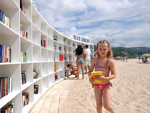 Beach Library, Albena, Bulgaria