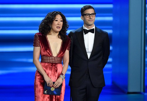 [TRENDING] Andy Samberg and Sandra Oh to co-host 2019 Golden Globe Awards