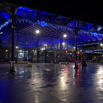 Preston Market at night