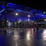 Preston Market at night