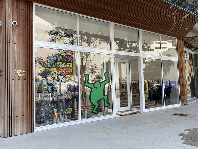 Keith Haring Alice + Olivia Miami Design District
