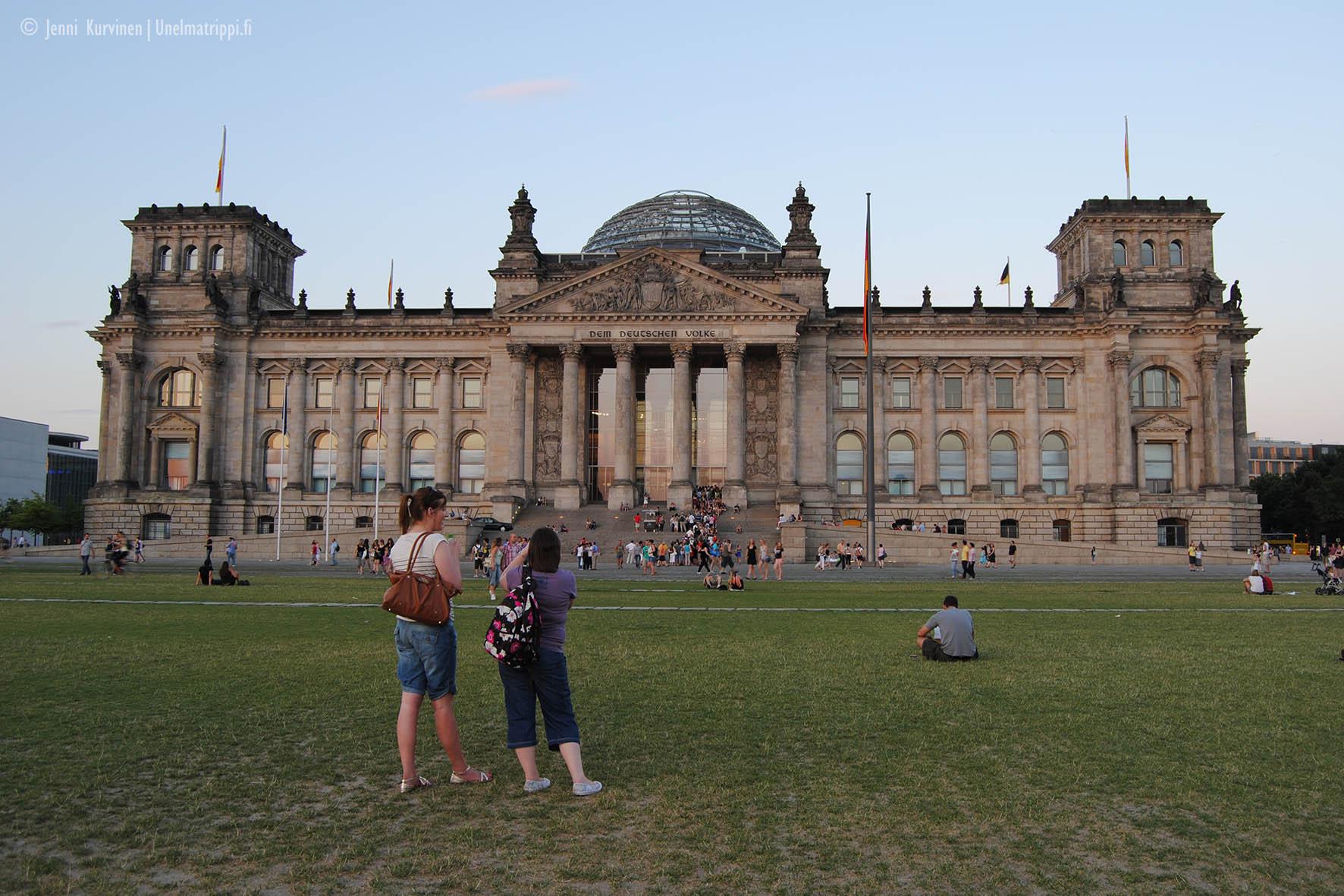 Valtiopäivätalo Reichstag