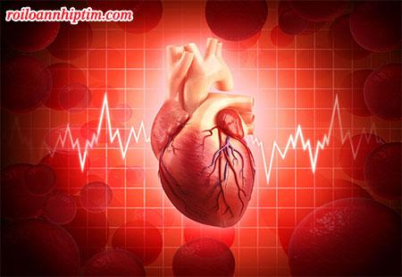 Rối loạn dẫn truyền điện tim là 1 nguyên nhân gây nhịp tim nhanh