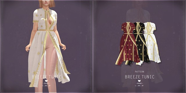 Breeze.Tunic Pattern - XOXO hunt