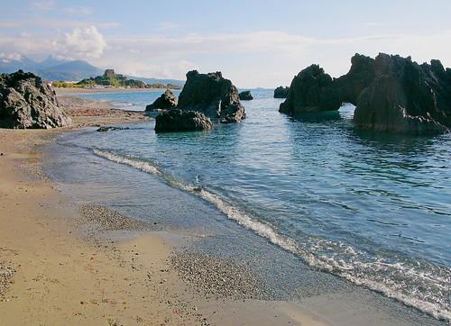 Scalea(Cs) Spiaggia Ajnella_Ajnella beach