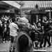 Taoist ceremony in Dihua street - Taipei City -Taiwan
