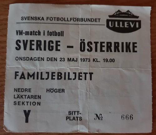 Sweden Austria 1973