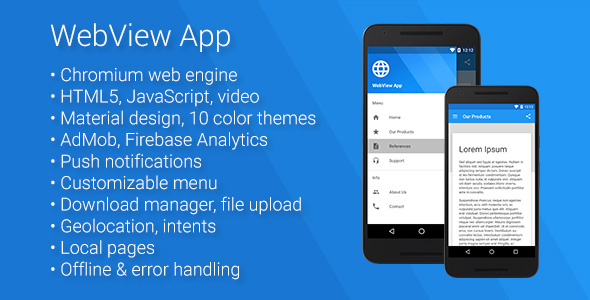 Universal Android WebView App v2.5.0