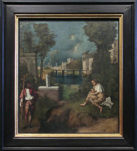 La Tempesta, Giorgione, 1476(77)-1510