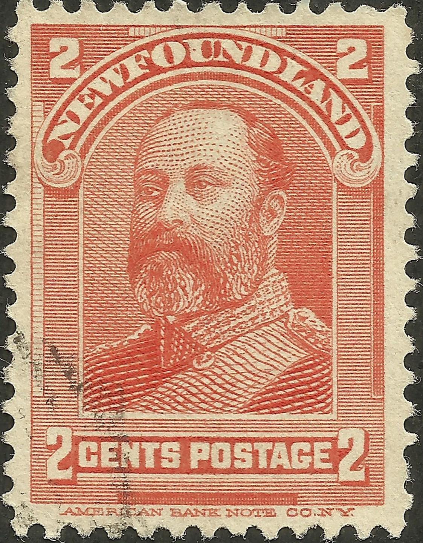 Newfoundland - Scott #82 (1898)