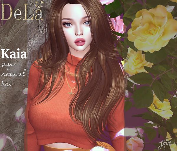 "=DeLa*= new hair ""Kaia"" - TeleportHub.com Live!"