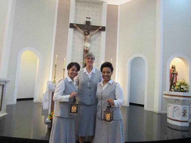 Primeiros votos das Noviças Michelle e Maria Eduarda