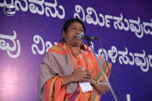Devotional song by Sarojni Poojari from Mulki