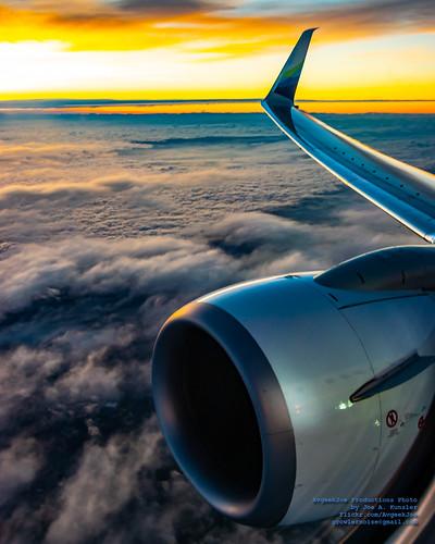 737990 737990erwl alaskaair alaskaairlines boeing737 boeing737900 boeing737990 boeing737990erwl d5300 dslr jetliners n275ak nikon nikond5300 sunrise aircraft airplane aviation jetliner plane