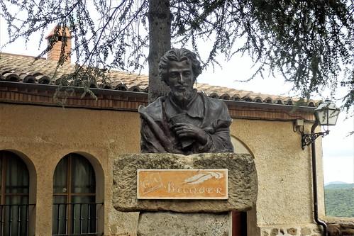 Añón de Moncayo a Gustavo Adolfo Bécquer.