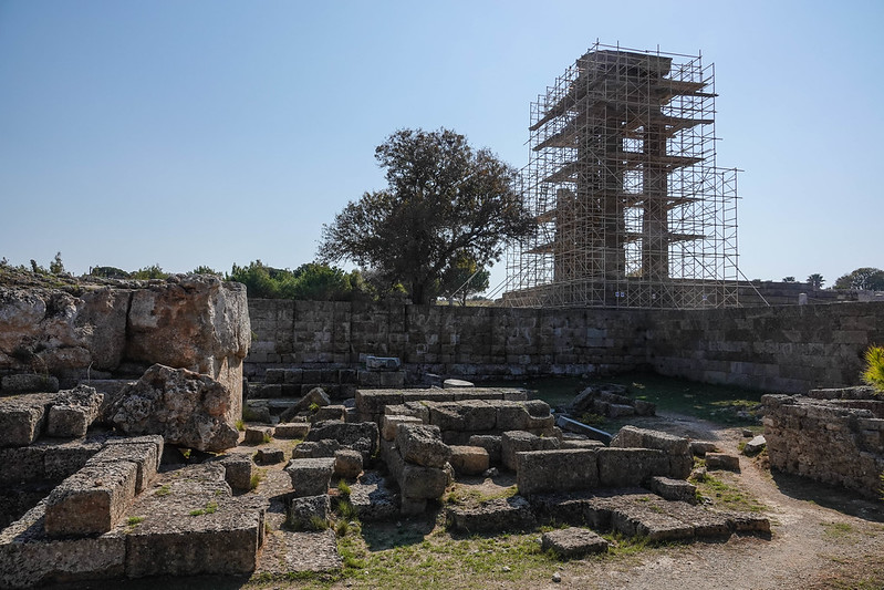 Rhodes Acropolis ruins