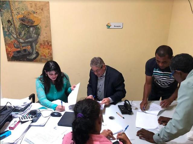Assinatura de TAC em Floresta - Acordo entre assentamentos Maria Bonita e Terra Nova