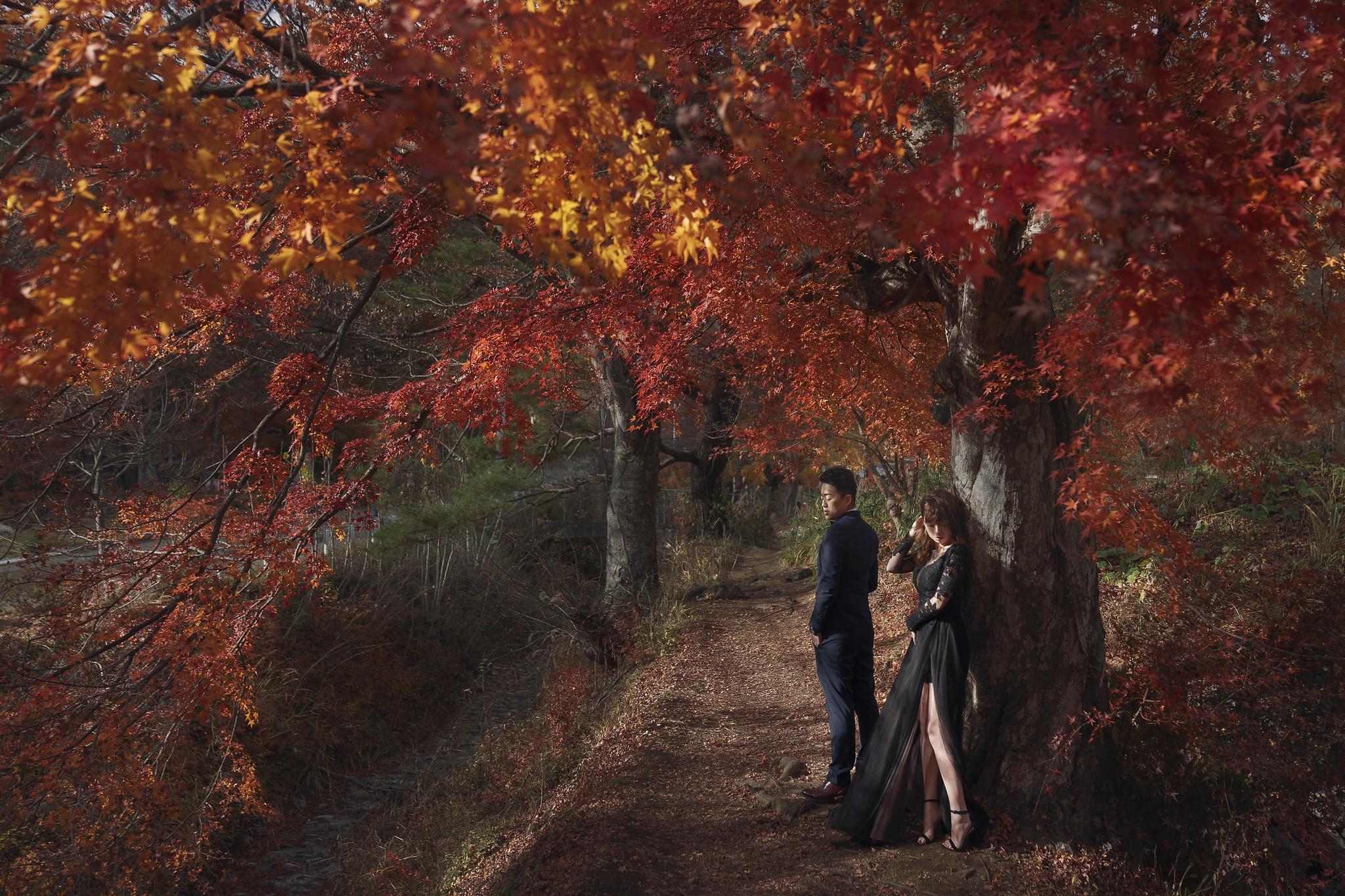 東京楓葉, 海外婚紗, EW, Donfer, EASTERN WEDDING, Tokyo Pre-Wedding, 楓葉婚紗