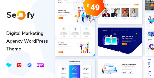 Seofy v1.4 – Digital Marketing Agency WordPress Theme